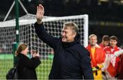 18 November 2019; Denmark manager Åge Hareide after the UEFA EURO2020 Qualifier match between Republic of Ireland and Denmark at the Aviva Stadium in Dublin. Photo by Eóin Noonan/Sportsfile