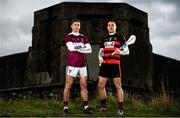 19 November 2019; Borris-Ileigh and Tipperary hurler Brendan Maher, left, is pictured with Ballygunner and former Waterford hurler Shane O'Sullivan ahead of the AIB GAA Munster Senior Hurling Club Championship on Sunday November 24th at Páirc Uí Rinn. AIB is in its 29th year sponsoring the GAA Club Championship and is delighted to continue to support the Junior, Intermediate and Senior Championships across football, hurling and camogie. For exclusive content and behind the scenes action throughout the AIB GAA & Camogie Club Championships follow AIB GAA on Facebook, Twitter, Instagram and Snapchat. Photo by Sam Barnes/Sportsfile