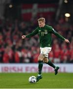 18 November 2019; James McClean of Republic of Ireland during the UEFA EURO2020 Qualifier match between Republic of Ireland and Denmark at the Aviva Stadium in Dublin. Photo by Seb Daly/Sportsfile