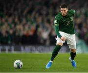 18 November 2019; Matt Doherty of Republic of Ireland during the UEFA EURO2020 Qualifier match between Republic of Ireland and Denmark at the Aviva Stadium in Dublin. Photo by Seb Daly/Sportsfile