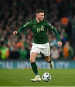 18 November 2019; Alan Browne of Republic of Ireland during the UEFA EURO2020 Qualifier match between Republic of Ireland and Denmark at the Aviva Stadium in Dublin. Photo by Seb Daly/Sportsfile