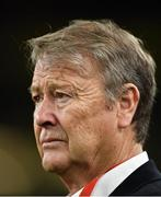18 November 2019; Denmark manager Åge Hareide during the UEFA EURO2020 Qualifier match between Republic of Ireland and Denmark at the Aviva Stadium in Dublin. Photo by Seb Daly/Sportsfile