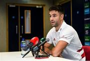 19 November 2019; Conor Murray during a Munster Rugby press conference at the University of Limerick in Limerick. Photo by Diarmuid Greene/Sportsfile