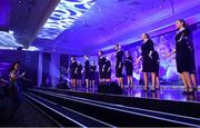 16 November 2019; Arís Choir perform during the TG4 All-Ireland Ladies Football All Stars Awards banquet, in association with Lidl, at the Citywest Hotel in Saggart, Dublin. Photo by Brendan Moran/Sportsfile