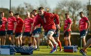 19 November 2019; Peter O'Mahony during Munster Rugby squad training at the University of Limerick in Limerick. Photo by Diarmuid Greene/Sportsfile