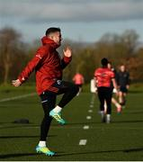 19 November 2019; JJ Hanrahan during Munster Rugby squad training at the University of Limerick in Limerick. Photo by Diarmuid Greene/Sportsfile