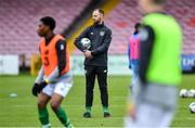 18 November 2019; Republic of Ireland assistant coach David Meyler before the UEFA Under-17 European Championship Qualifier match between Republic of Ireland and Israel at Turner's Cross in Cork. Photo by Piaras Ó Mídheach/Sportsfile