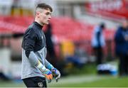 18 November 2019; Patrick McGarvey of Republic of Ireland in the warm-up before the UEFA Under-17 European Championship Qualifier match between Republic of Ireland and Israel at Turner's Cross in Cork. Photo by Piaras Ó Mídheach/Sportsfile
