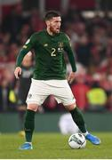 18 November 2019; Matt Doherty of Republic of Ireland during the UEFA EURO2020 Qualifier match between Republic of Ireland and Denmark at the Aviva Stadium in Dublin. Photo by Harry Murphy/Sportsfile