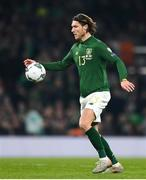 18 November 2019; Jeff Hendrick of Republic of Ireland during the UEFA EURO2020 Qualifier match between Republic of Ireland and Denmark at the Aviva Stadium in Dublin. Photo by Eóin Noonan/Sportsfile