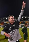 19 November 2019; Republic of Ireland manager Stephen Kenny following the UEFA European U21 Championship Qualifier match between Republic of Ireland and Sweden at Tallaght Stadium in Tallaght, Dublin. Photo by Eóin Noonan/Sportsfile