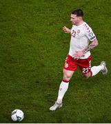 18 November 2019; Pierre-Emile Højbjerg of Denmark during the UEFA EURO2020 Qualifier - Group D match between Republic of Ireland and Denmark at Aviva Stadium in Dublin. Photo by Ben McShane/Sportsfile
