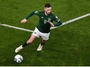 18 November 2019; Alan Browne of Republic of Ireland during the UEFA EURO2020 Qualifier - Group D match between Republic of Ireland and Denmark at Aviva Stadium in Dublin. Photo by Ben McShane/Sportsfile