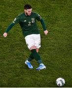18 November 2019; Matt Doherty of Republic of Ireland during the UEFA EURO2020 Qualifier - Group D match between Republic of Ireland and Denmark at Aviva Stadium in Dublin. Photo by Ben McShane/Sportsfile