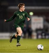 19 November 2019; Connor Ronan of Republic of Ireland during the UEFA European U21 Championship Qualifier match between Republic of Ireland and Sweden at Tallaght Stadium in Tallaght, Dublin. Photo by Stephen McCarthy/Sportsfile