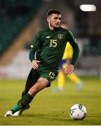 19 November 2019; Troy Parrott of Republic of Ireland during the UEFA European U21 Championship Qualifier match between Republic of Ireland and Sweden at Tallaght Stadium in Tallaght, Dublin. Photo by Stephen McCarthy/Sportsfile