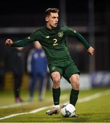 19 November 2019; Lee O'Connor of Republic of Ireland during the UEFA European U21 Championship Qualifier match between Republic of Ireland and Sweden at Tallaght Stadium in Tallaght, Dublin. Photo by Stephen McCarthy/Sportsfile