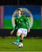 19 November 2019; Cathal Heffernan of Republic of Ireland during the U15 International Friendly match between Republic of Ireland and Poland at Eamonn Deacy Park in Galway. Photo by Seb Daly/Sportsfile