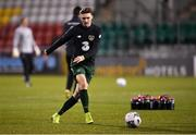 19 November 2019; Jack Taylor of Republic of Ireland prior to the UEFA European U21 Championship Qualifier match between Republic of Ireland and Sweden at Tallaght Stadium in Tallaght, Dublin. Photo by Harry Murphy/Sportsfile