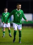 19 November 2019; Adam Murphy of Republic of Ireland during the U15 International Friendly match between Republic of Ireland and Poland at Eamonn Deacy Park in Galway. Photo by Seb Daly/Sportsfile