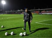 15 November 2019; Republic of Ireland assistant coach David Meyler before the Under-17 UEFA European Championship Qualifier match between Republic of Ireland and Montenegro at Turner's Cross in Cork. Photo by Piaras Ó Mídheach/Sportsfile