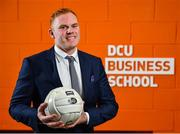 21 November 2019; Former Dublin footballer Mark Vaughan in attendance at the announcement of the 10th year of DCU Business School and GPA scholarships, at DCU Business School in Dublin City University, Dublin. Photo by Seb Daly/Sportsfile
