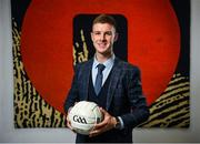 21 November 2019; Former Dublin footballer Shane Carthy in attendance at the announcement of the 10th year of DCU Business School and GPA scholarships, at DCU Business School in Dublin City University, Dublin. Photo by Seb Daly/Sportsfile