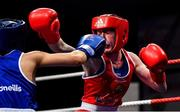 22 November 2019; Shannon Sweeney of St Annes, Co Mayo, right, in action against Daina Moorehouse of Enniskerry, Co Wicklow, in their 48kg bout during the IABA Irish National Elite Boxing Championships Finals at the National Stadium in Dublin. Photo by Piaras Ó Mídheach/Sportsfile