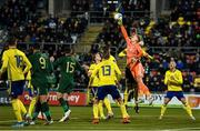 19 November 2019; Pontus Dahlberg of Sweden during the UEFA European U21 Championship Qualifier match between Republic of Ireland and Sweden at Tallaght Stadium in Tallaght, Dublin. Photo by Eóin Noonan/Sportsfile