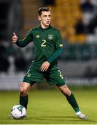 19 November 2019; Lee O'Connor of Republic of Ireland during the UEFA European U21 Championship Qualifier match between Republic of Ireland and Sweden at Tallaght Stadium in Tallaght, Dublin. Photo by Eóin Noonan/Sportsfile