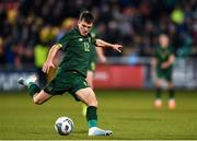 19 November 2019; Jason Knight of Republic of Ireland during the UEFA European U21 Championship Qualifier match between Republic of Ireland and Sweden at Tallaght Stadium in Tallaght, Dublin. Photo by Eóin Noonan/Sportsfile