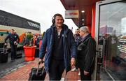 23 November 2019; Donnacha Ryan of Racing 92 arrives prior to the Heineken Champions Cup Pool 4 Round 2 match between Munster and Racing 92 at Thomond Park in Limerick. Photo by Brendan Moran/Sportsfile