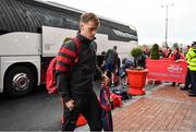 23 November 2019; Mike Haley of Munster arrives prior to the Heineken Champions Cup Pool 4 Round 2 match between Munster and Racing 92 at Thomond Park in Limerick. Photo by Brendan Moran/Sportsfile