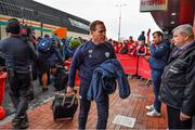 23 November 2019; Racing 92 backs coach Mike Prendergast arrives prior to the Heineken Champions Cup Pool 4 Round 2 match between Munster and Racing 92 at Thomond Park in Limerick. Photo by Brendan Moran/Sportsfile