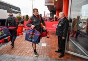 23 November 2019; John Ryan of Munster arrives prior to the Heineken Champions Cup Pool 4 Round 2 match between Munster and Racing 92 at Thomond Park in Limerick. Photo by Brendan Moran/Sportsfile