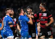 23 November 2019; Rónan Kelleher of Leinster tussles with Hendrik Roodt of Lyon during the Heineken Champions Cup Pool 1 Round 2 match between Lyon and Leinster at Matmut Stadium in Lyon, France. Photo by Ramsey Cardy/Sportsfile