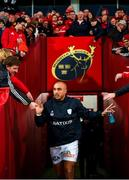 23 November 2019; Simon Zebo of Racing 92 prior to the Heineken Champions Cup Pool 4 Round 2 match between Munster and Racing 92 at Thomond Park in Limerick. Photo by Diarmuid Greene/Sportsfile