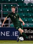 19 November 2019; Nathan Collins of Republic of Ireland during the UEFA European U21 Championship Qualifier match between Republic of Ireland and Sweden at Tallaght Stadium in Tallaght, Dublin. Photo by Harry Murphy/Sportsfile
