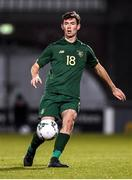 19 November 2019; Thomas O'Connor of Republic of Ireland during the UEFA European U21 Championship Qualifier match between Republic of Ireland and Sweden at Tallaght Stadium in Tallaght, Dublin. Photo by Harry Murphy/Sportsfile