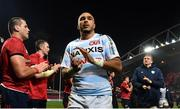23 November 2019; Simon Zebo of Racing 92 following the Heineken Champions Cup Pool 4 Round 2 match between Munster and Racing 92 at Thomond Park in Limerick. Photo by Sam Barnes/Sportsfile