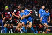 23 November 2019; Garry Ringrose of Leinster is tackled by Jonathan Wisniewski of Lyon during the Heineken Champions Cup Pool 1 Round 2 match between Lyon and Leinster at Matmut Stadium in Lyon, France. Photo by Ramsey Cardy/Sportsfile