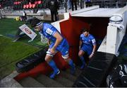 23 November 2019; Max Deegan of Leinster ahead of the Heineken Champions Cup Pool 1 Round 2 match between Lyon and Leinster at Matmut Stadium in Lyon, France. Photo by Ramsey Cardy/Sportsfile