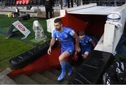 23 November 2019; Rob Kearney of Leinster ahead of the Heineken Champions Cup Pool 1 Round 2 match between Lyon and Leinster at Matmut Stadium in Lyon, France. Photo by Ramsey Cardy/Sportsfile
