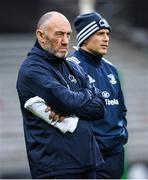 23 November 2019; Leinster scrum coach Robin McBryde, left, and Leinster backs coach Felipe Contepomi ahead of the Heineken Champions Cup Pool 1 Round 2 match between Lyon and Leinster at Matmut Stadium in Lyon, France. Photo by Ramsey Cardy/Sportsfile