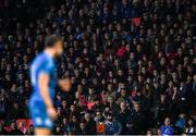 23 November 2019; Supporters during the Heineken Champions Cup Pool 1 Round 2 match between Lyon and Leinster at Matmut Stadium in Lyon, France. Photo by Ramsey Cardy/Sportsfile