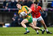 24 November 2019; Kieran Molloy of Corofin in action against Lorcan Daly of Pádraig Pearses during the AIB Connacht GAA Football Senior Club Football Championship Final match between Corofin and Pádraig Pearses at Tuam Stadium in Tuam, Galway. Photo by Piaras Ó Mídheach/Sportsfile