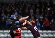 24 November 2019; Stephen O'Keefe of Ballygunner in action against Niall Kenny of Boris-Ileigh during the AIB Munster GAA Hurling Senior Club Championship Final match between Ballygunner and Borris-Ileigh at Páirc Ui Rinn in Cork. Photo by Eóin Noonan/Sportsfile