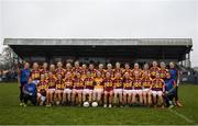24 November 2019; MacHale Rovers players prior to the All-Ireland Ladies Junior Club Championship Final match between Donoughmore and MacHale Rovers at Duggan Park in Ballinasloe, Co Galway. Photo by Harry Murphy/Sportsfile