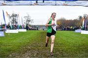 24 November 2019; Fionnuala McCormack of Kilcoole A.C., Co. Wicklow, on her way to winning the Senior Women event during the Irish Life Health National Senior, Junior & Juvenile Even Age Cross Country Championships at the National Sports Campus Abbotstown in Dublin. Photo by Sam Barnes/Sportsfile