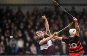 24 November 2019; Dessie Hutchinson of Ballygunner in action against Paddy Stapleton of Boris-Ileigh during the AIB Munster GAA Hurling Senior Club Championship Final match between Ballygunner and Borris-Ileigh at Páirc Ui Rinn in Cork. Photo by Eóin Noonan/Sportsfile